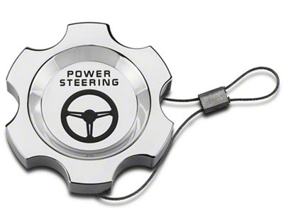 Add Modern Billet Chrome Power Steering Cap (96-04 V8)