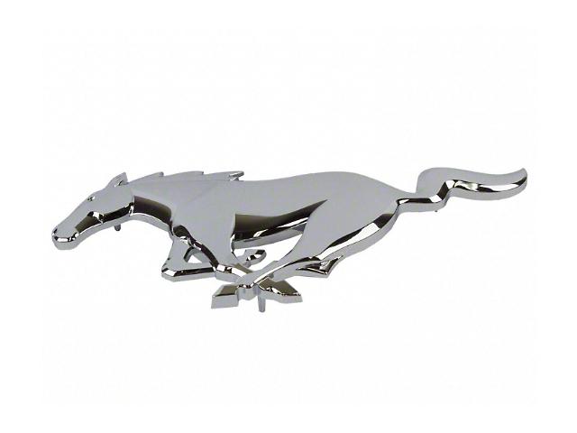Ford Pony Grille Emblem; Chrome (15-21 GT, EcoBoost, V6)