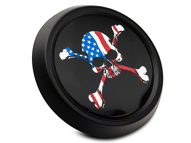 MP Concepts Decklid Panel Emblem; American Skull (15-21 All)