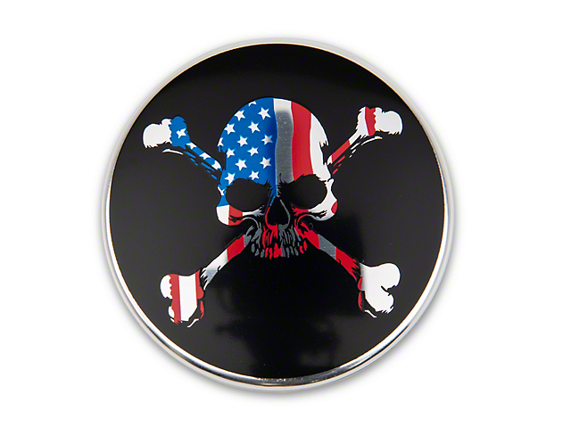 MP Concepts Center Cap Kit for Factory Wheels; American Skull (15-21 All)