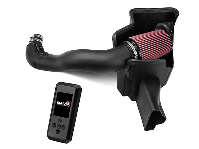 JLT Performance Cold Air Intake and BAMA Rev-X Tuner (15-20 EcoBoost)