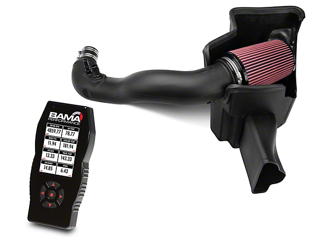 JLT Performance Cold Air Intake and BAMA X4/SF4 Power Flash Tuner (15-20 EcoBoost)