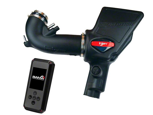 Injen Evolution Cold Air Intake and BAMA Rev-X Tuner (18-20 GT)