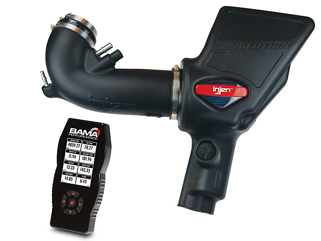 Injen Evolution Cold Air Intake and BAMA X4/SF4 Power Flash Tuner (18-20 GT)