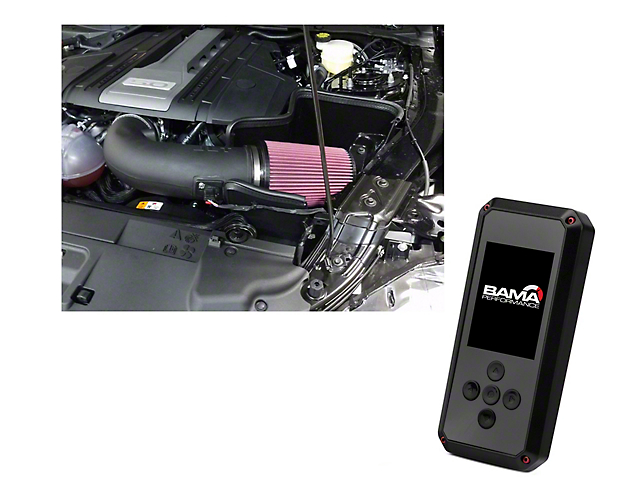 JLT Performance Cold Air Intake and BAMA Rev-X Tuner (18-20 GT)