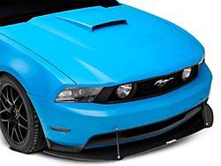V3R Style Front Chin Splitter; Gloss Carbon Fiber (10-14 GT, V6)