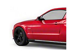 Mud Flaps; Front; Textured Black (10-14 All)