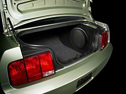 JL Audio Stealthbox; Black (05-09 Coupe)