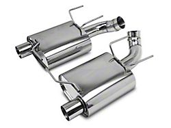 C&L Axle-Back Exhaust with Black Tips (11-14 GT)