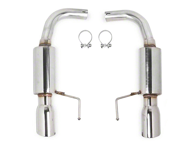 Flowtech Axle-Back Exhaust with Polished Tips (15-21 EcoBoost w/o Active Exhaust)