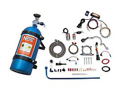 NOS Plate Wet Nitrous System; Blue Bottle (18-21 GT)