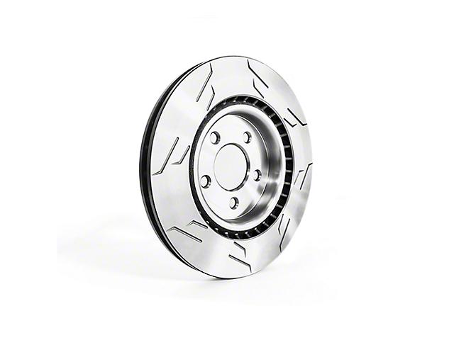 Sparta Evolution GP1 1-Piece Slotted Rotors; Rear Pair (94-04 GT, V6)