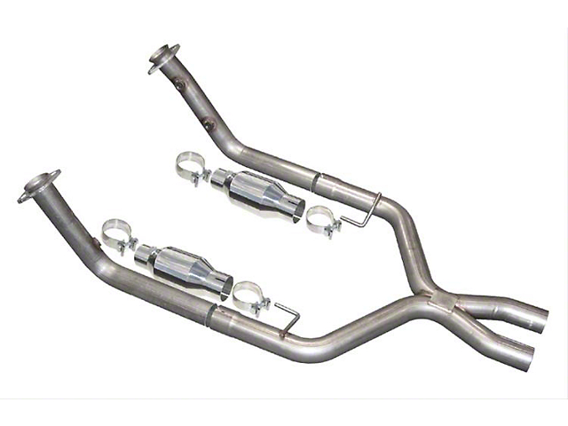 Pypes Catted X-Pipe with Metallic Cataylic Converters (05-10 GT)