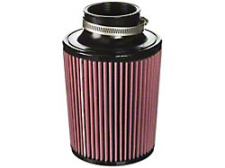Mishimoto Air Filter; Performance; 2.75-Inch Inlet; 7-Inch Filter Length; Red (Universal; Some Adaptation May Be Required)