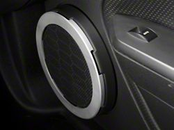 Modern Billet Satin Speaker Trim Rings (05-09 All)