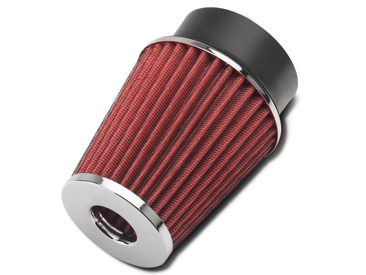 """BLUE 3.5/"""" Inlet Cold Air Intake Cone Dry Universal TRUCK FILTER For Chrysler"""