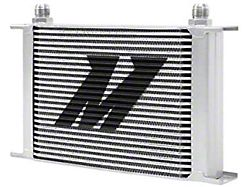 Mishimoto Universal 25-Row Oil Cooler; Silver (Universal; Some Adaptation May Be Required)