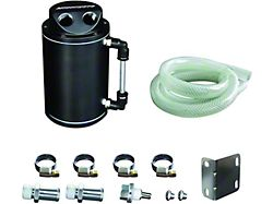 Mishimoto Oil Catch Can; Black (Universal; Some Adaptation May Be Required)
