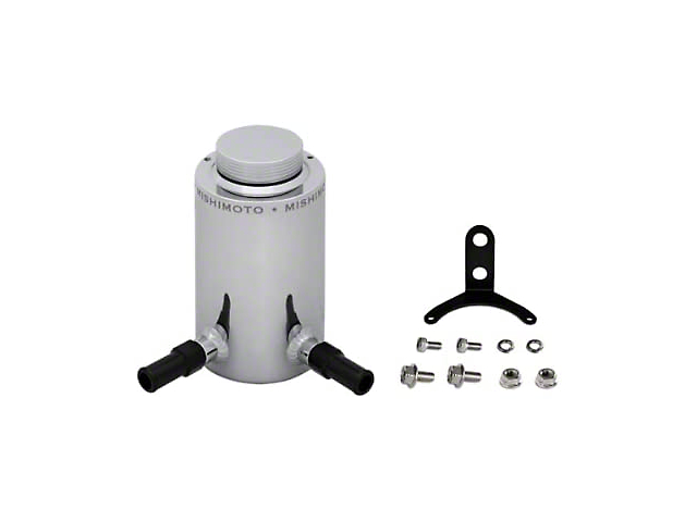 Mishimoto Power Steering Reservoir; Aluminum Power Steering Reservoir Tank (Universal Fitment)