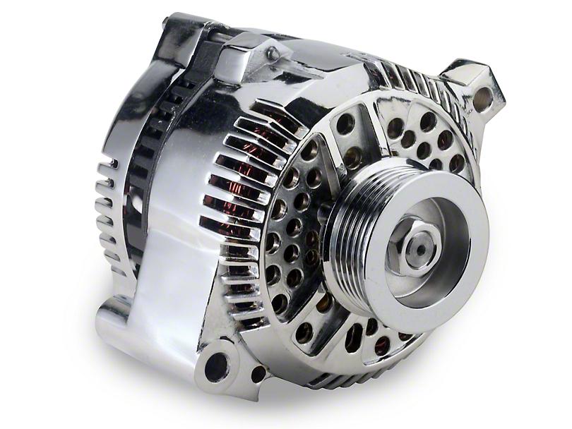 SR Performance Chrome Alternator - 130 Amp (94-95 GT; 94-00 V6)