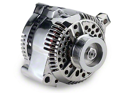 SR Performance Chrome Alternator - 130 Amp (94-95 GT; 94-00 V6)
