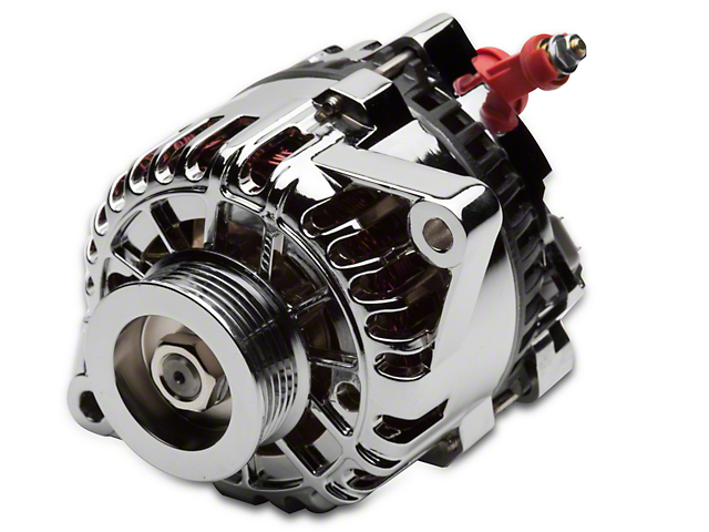 SR Performance Chrome Alternator - 105 Amp (01-04 V6)