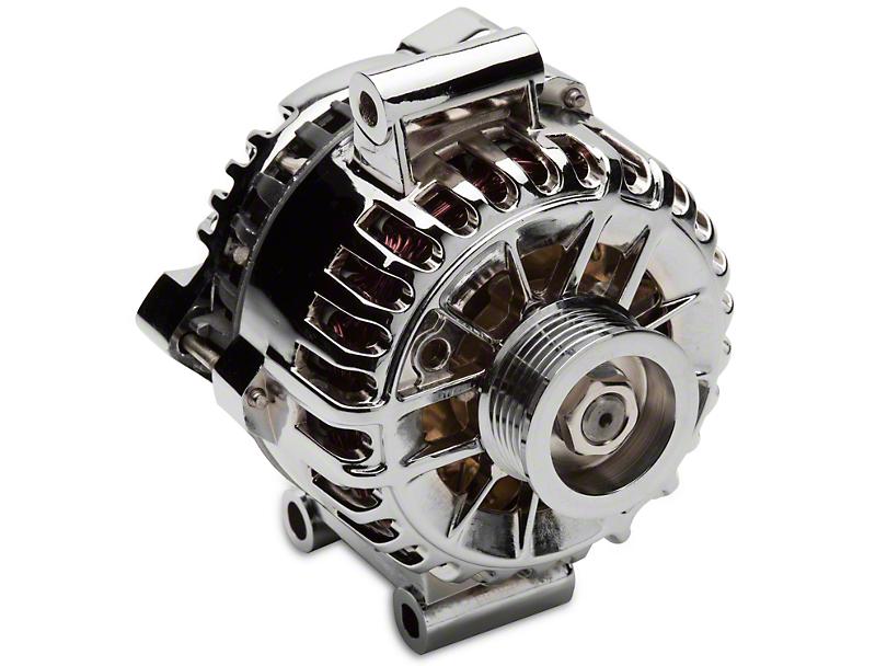SR Performance Alternator; 135 Amp; Chrome (05-08 V6)
