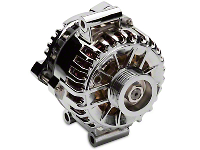 SR Performance Chrome Alternator - 135 Amp (05-08 V6)
