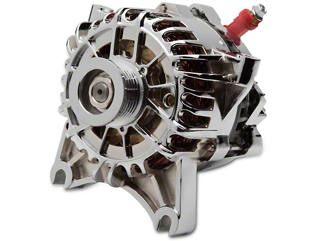 SR Performance Alternator; 105 Amp; Chrome (99-04 GT)