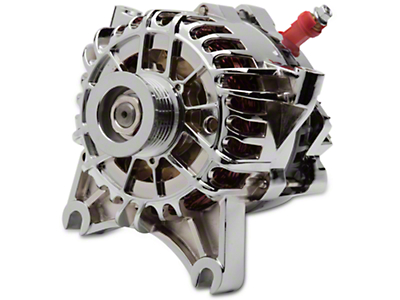 SR Performance Chrome Alternator - 105 Amp (99-04 GT)