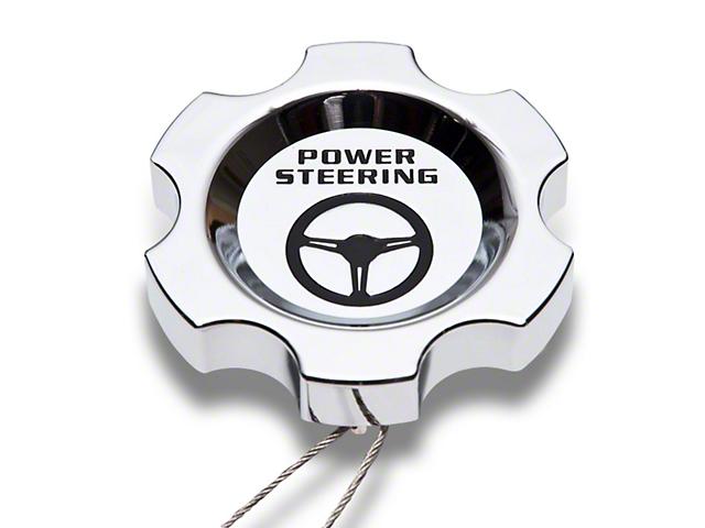 Modern Billet Chrome Power Steering Cap (96-04 GT, Cobra; 05-10 All)