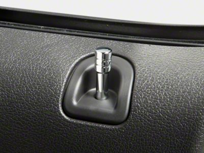 Modern Billet Chrome Door Lock Pins (05-14 All)