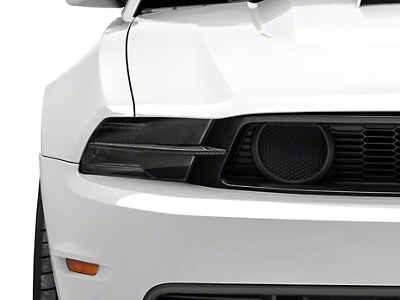 MMD Headlight Splitters - Carbon Fiber (10-12 GT)