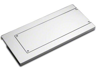 Add Modern Billet Chrome Fuse Box Cover (05-09 All)