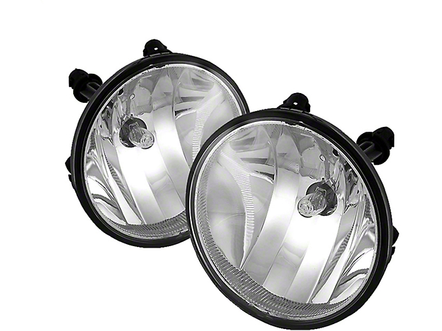 OEM Style Fog Lights; Clear (07-09 GT500)