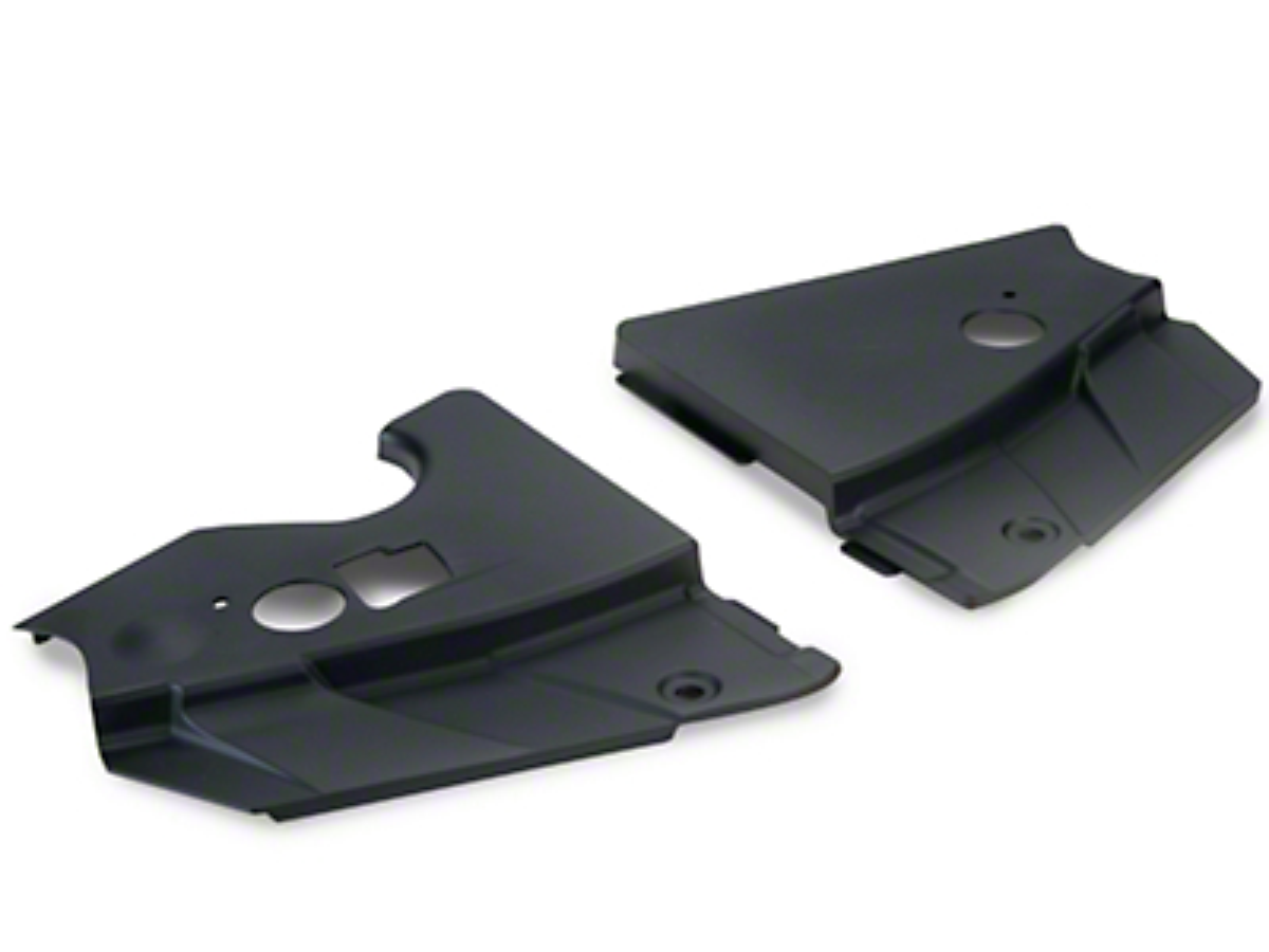 SpeedForm Radiator Extension Covers - Unpainted (05-09 GT, V6)