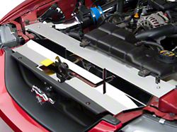 Modern Billet Stainless Steel Radiator Cover; Polished (99-04 All, Excluding 03-04 Cobra)