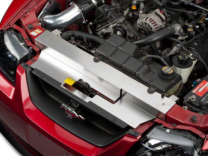 Modern Billet Brushed Stainless Steel Radiator Cover (99-04 All, Excluding 03-04 Cobra)