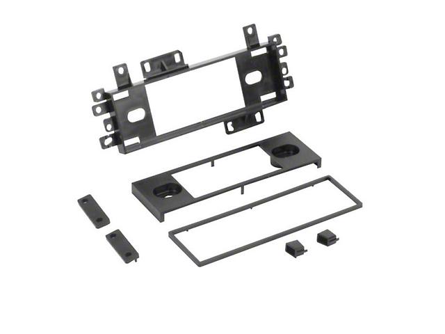 Scosche Single DIN Installation Dash Kit (87-06 Jeep Wrangler YJ & TJ)