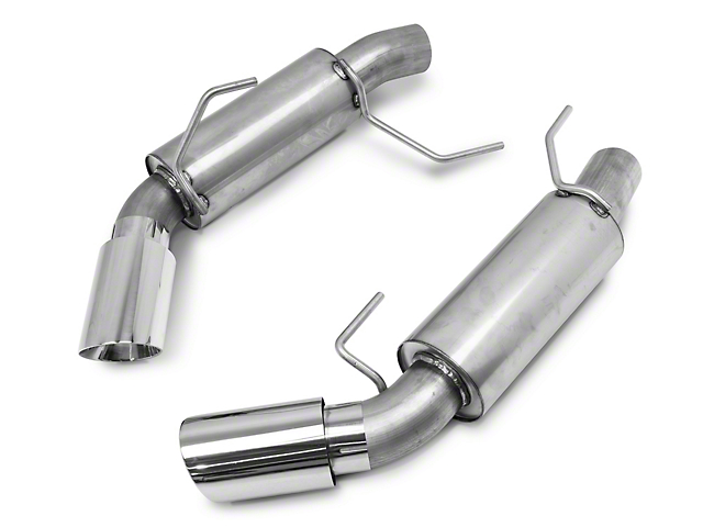 C&L Sport Axle-Back Exhaust with Polished Tips (05-10 GT, GT500)