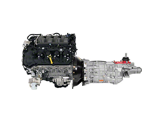 Ford Performance Gen 3 5.0L Coyote 460HP Crate Engine with 6-Speed Manual Transmission