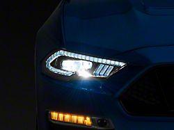 Morimoto XB LED Projector Headlights; Black Housing; Clear Lens (18-21 GT, EcoBoost)