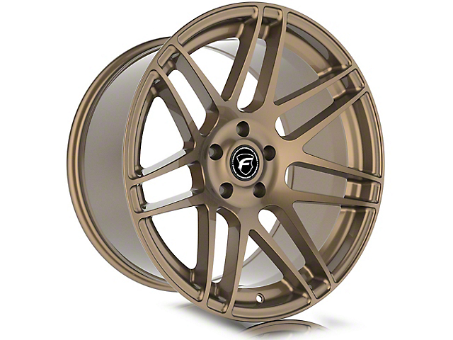 Forgestar F14 Monoblock Satin Bronze Wheel; Rear Only; 19x10 (05-09 All)