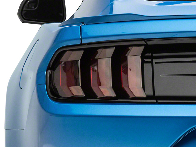 MP Concepts Tail Light Covers; Smoked (18-21 GT, EcoBoost, GT500)