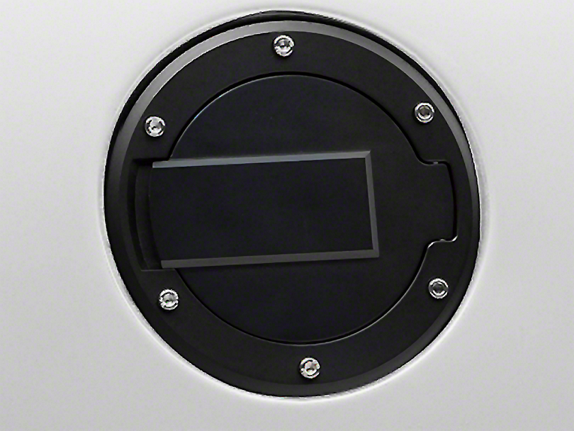 MMD Black Billet Aluminum Fuel Door (94-04 All)