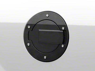 MMD Black Billet Aluminum Fuel Door (05-09 All)