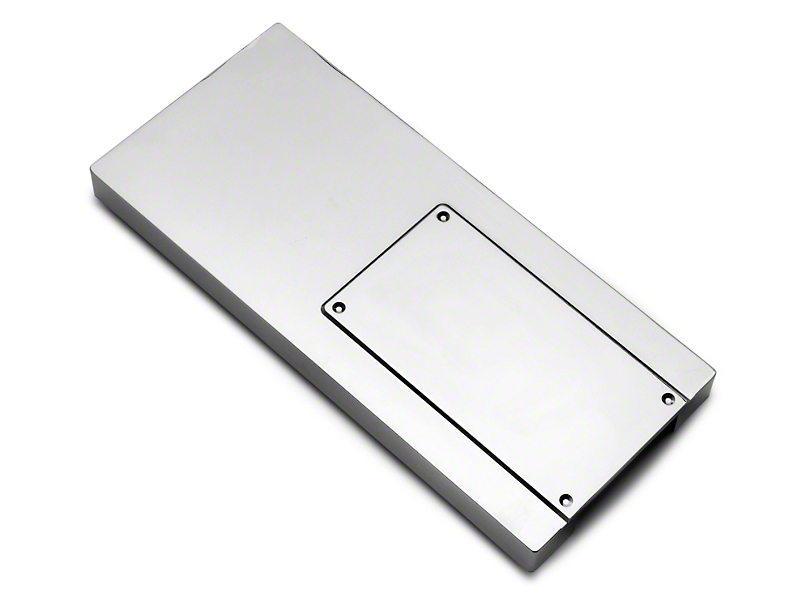Modern Billet Chrome Fuse Box Cover (10-14 All)