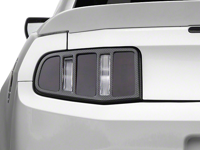 MMD Tail Light Trim - Carbon Fiber (10-12 All)