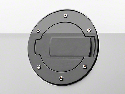 MMD Black Billet Aluminum Fuel Door (10-14 All)