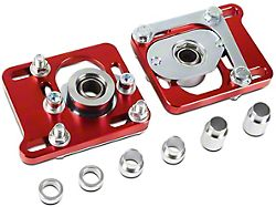 Camber Caster Plates; Red (94-04 All)